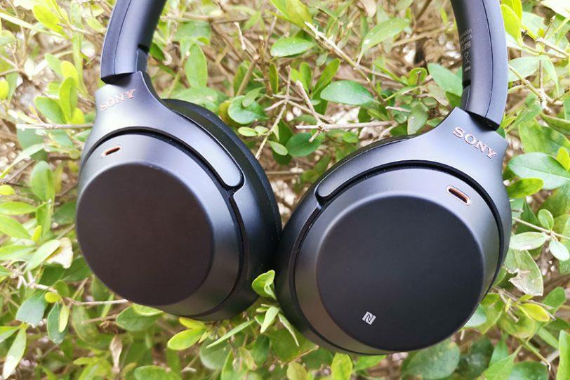 אוזניות Sony WH1000XM3 (צילום: צחי הופמן)