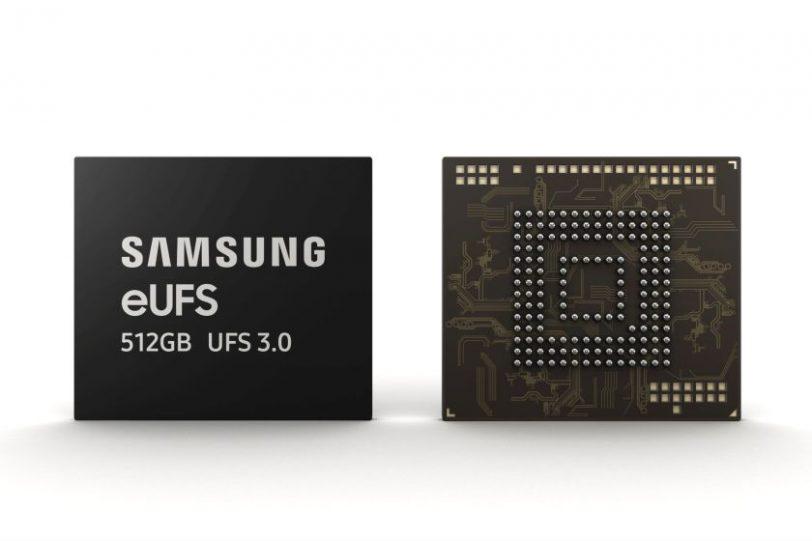 שבב זיכרון eUFS 3.0 512GB (מקור סמסונג)