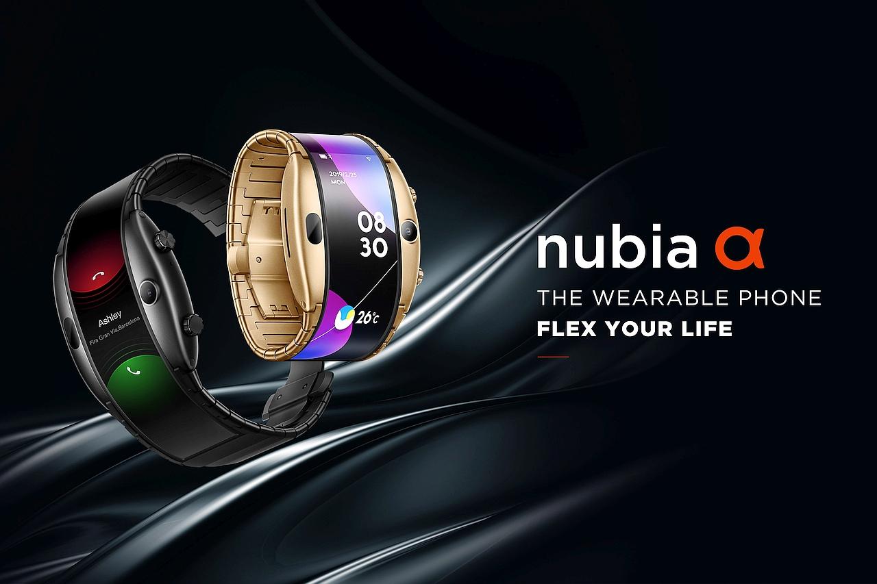 שעון nubia Alpha (מקור Nubia)