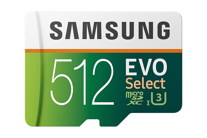 כרטיס זכרון Samsung 512GB (U3) MicroSD Evo