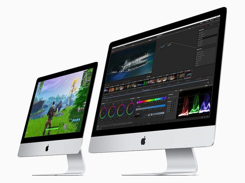 מחשבי iMac 21.5 ו-iMac 27 (מקור אפל)