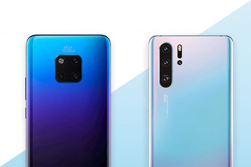 Huawei Mate 20 Pro ו-Huawei P30 Pro