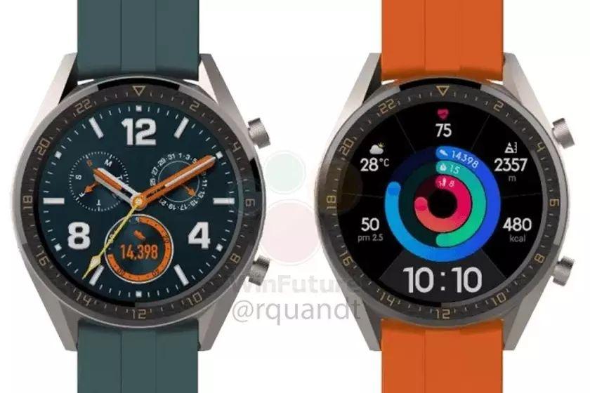 הדלפת שעון ה-Watch GT Active (מקור gizmochina)