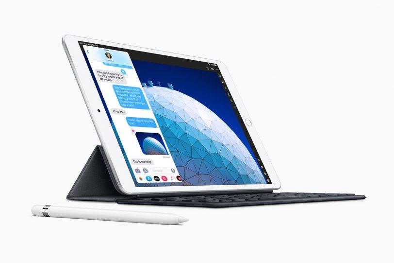 iPad Air 2019 (תמונה באדיבות Apple)