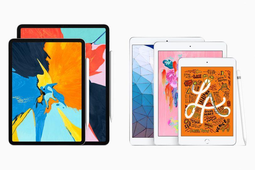 iPad Air 2019 ו-iPad Mini 2019 (תמונה באדיבות Apple)