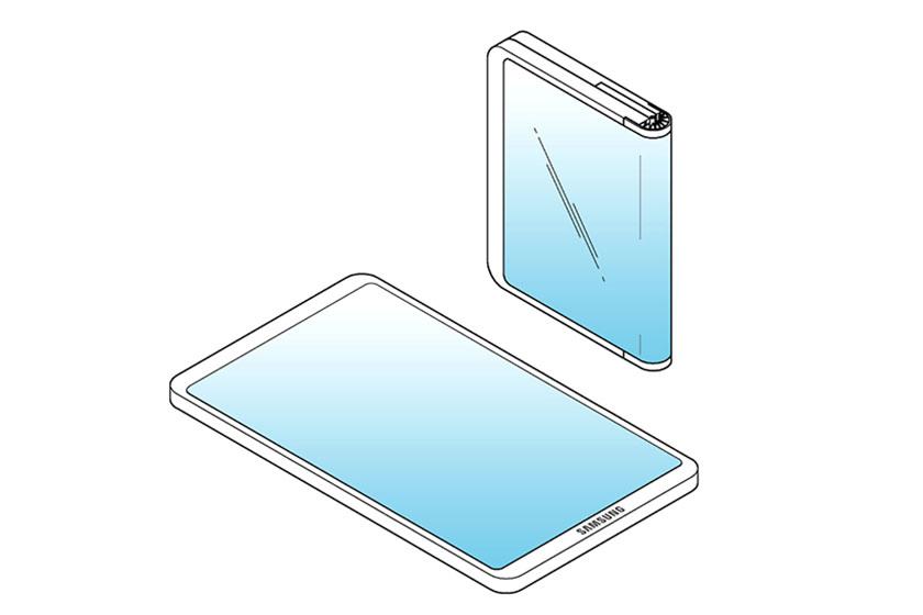 Samsung Foldable Smartphone (תמונה: LetsGoDigital)