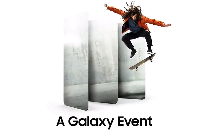 A Galaxy Event (תמונה: Twitter/Samsung)