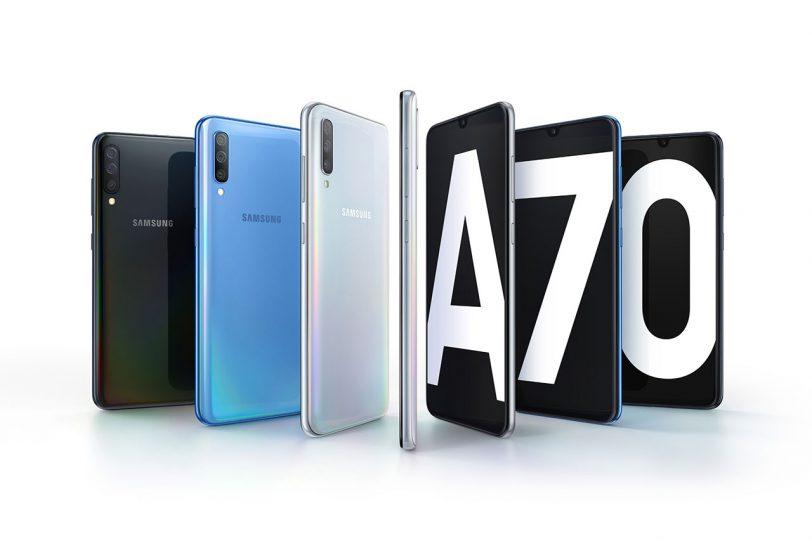Samsung Galaxy A70 (תמונה: Samsung)