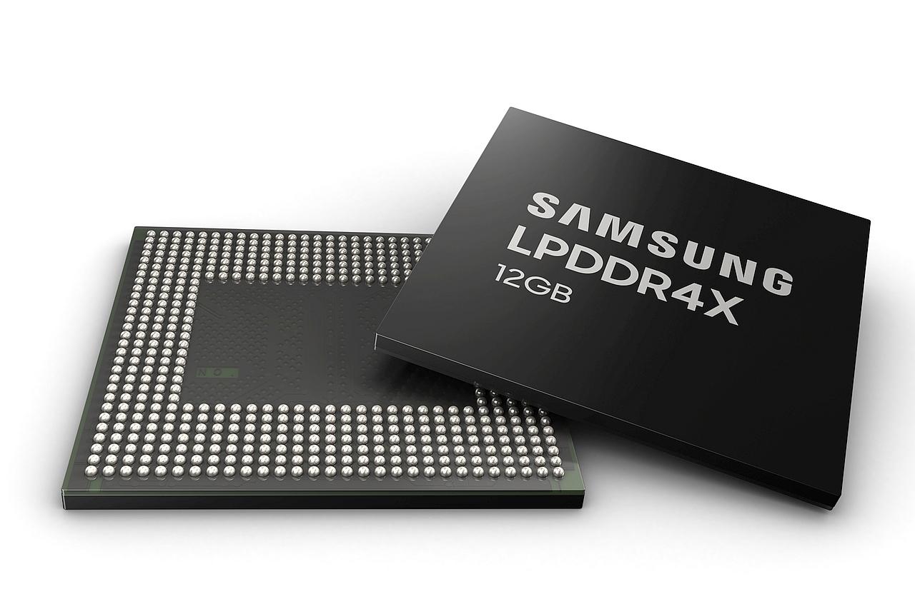 שבב זיכרון LPDDR4X 12GB (מקור סמסונג)