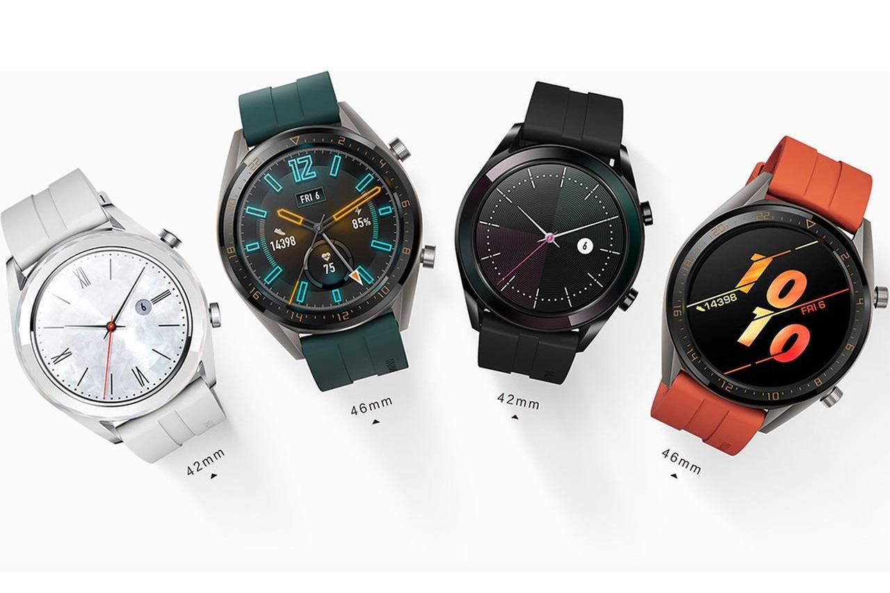 שעוני ה-Watch GT Active ו-Watch GT Elegant (מקור וואווי)
