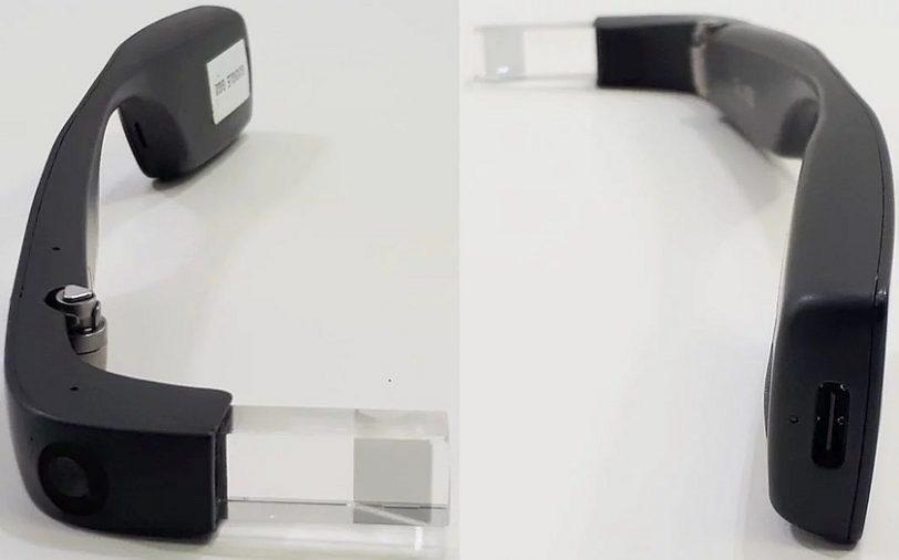 משקפי Glass EE2 (מקור tecnoblog)