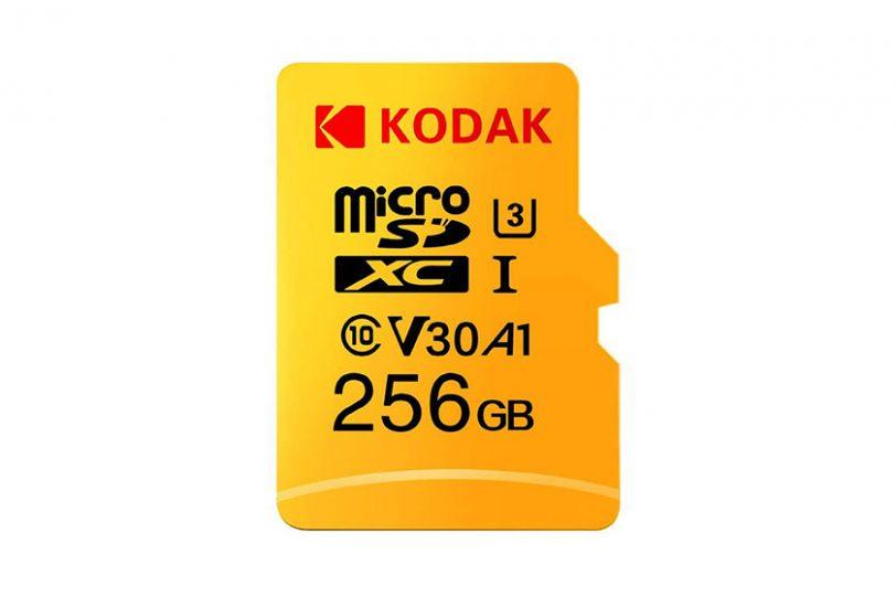 כרטיס זיכרון Kodak MicroSD 256GB (תמונה: Kodak)