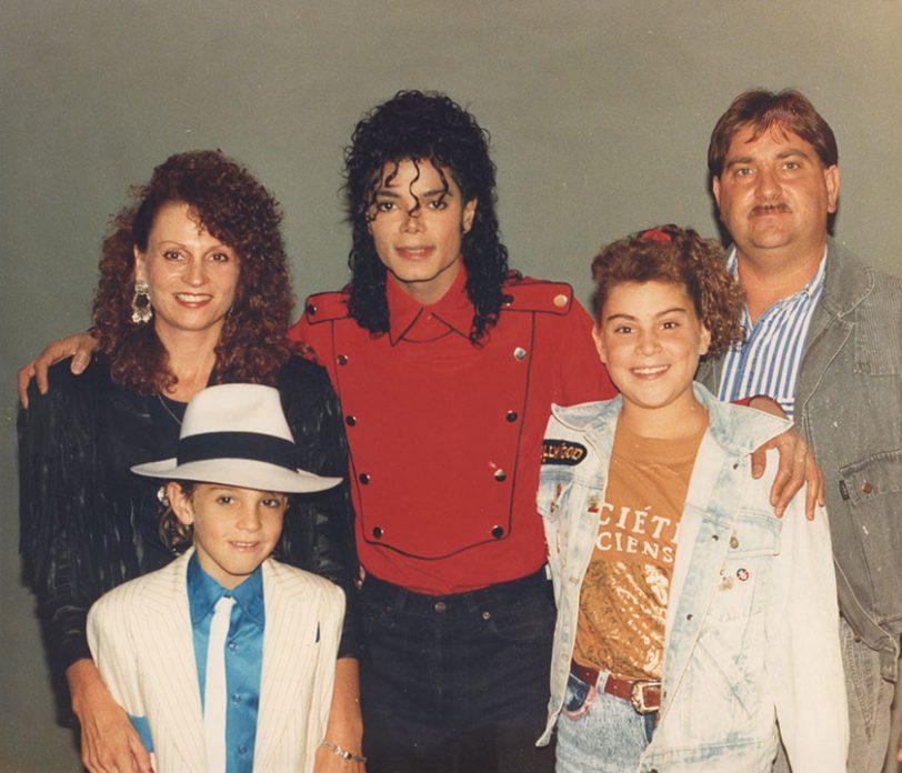 מייקל ג'קסון ומשפחת רובסון