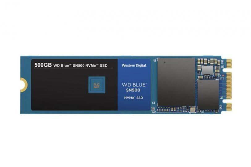 כונן WD Blue SN500 NVMe SSD (מקור WD)