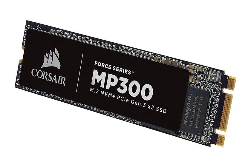 כונן קשיח CORSAIR FORCE 960GB NVMe PCIe M.2 SSD (תמונה: CORSAIR)