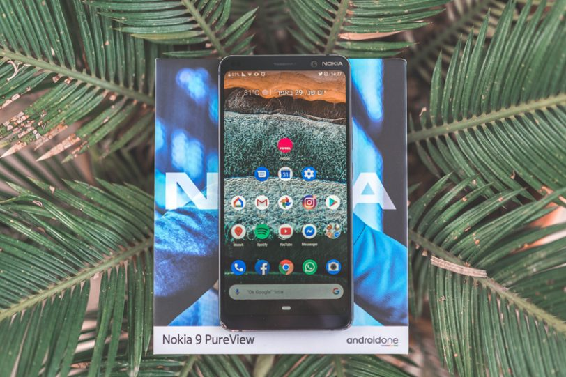 Nokia 9 PureView (צילום: אופק ביטון, גאדג'טי)