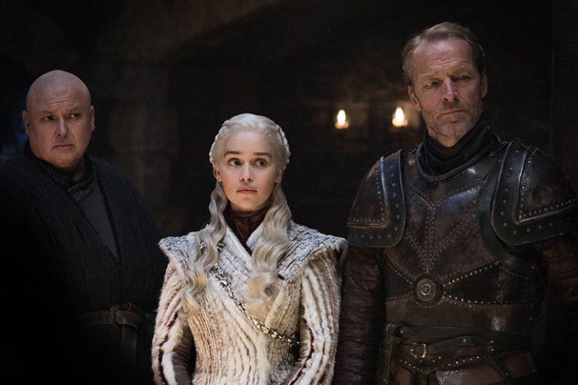 דאיניריס טארגריין מתוך משחקי הכס, עונה 8 (צילום: Helen Sloan, תמונה באדיבות HBO)