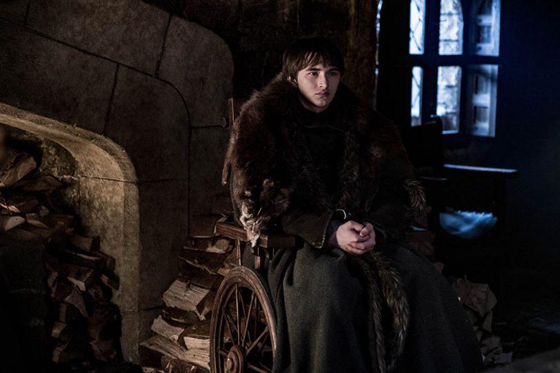 בראן סטארק מתוך משחקי הכס, עונה 8 (צילום: Helen Sloan, תמונה באדיבות HBO)