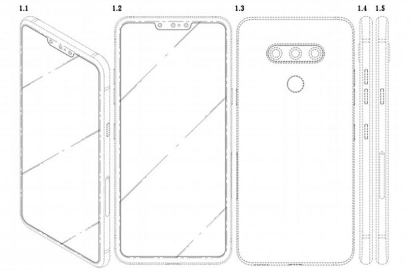 LG Three Selfie Patent (תמונה: tigermobiles)