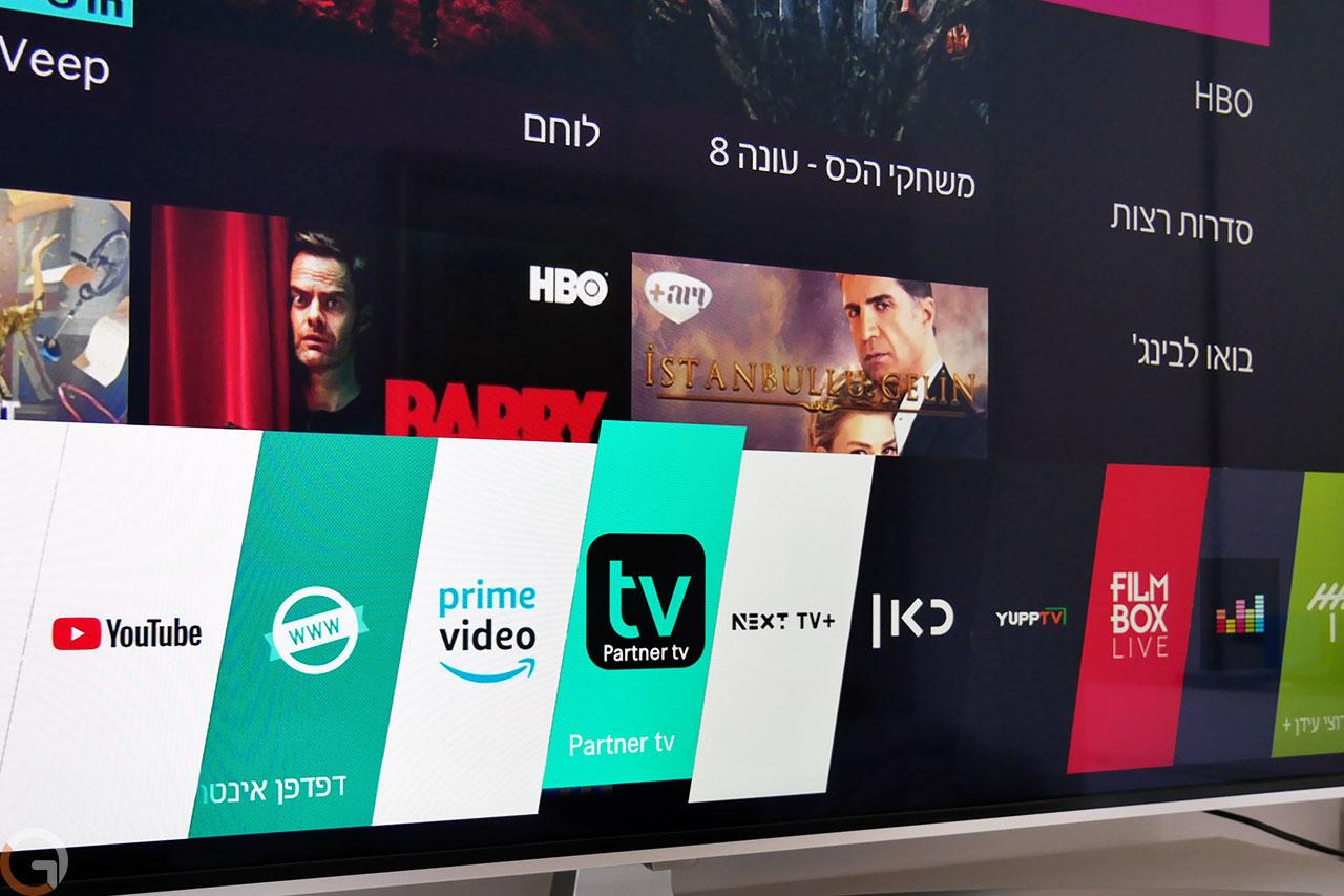 פרטנר TV על WebOS