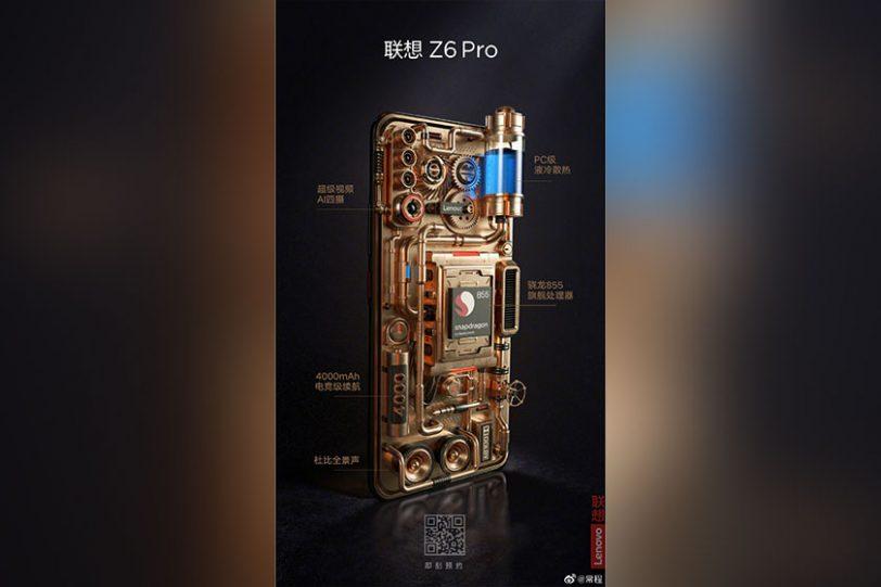 Lenovo Z6 Pro (תמונה: Weibo)