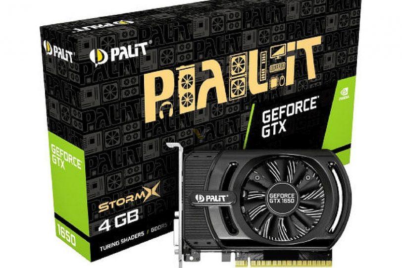 כרטיס GeForce GTX 1650 של חברת PALIT (מקור videocardz)