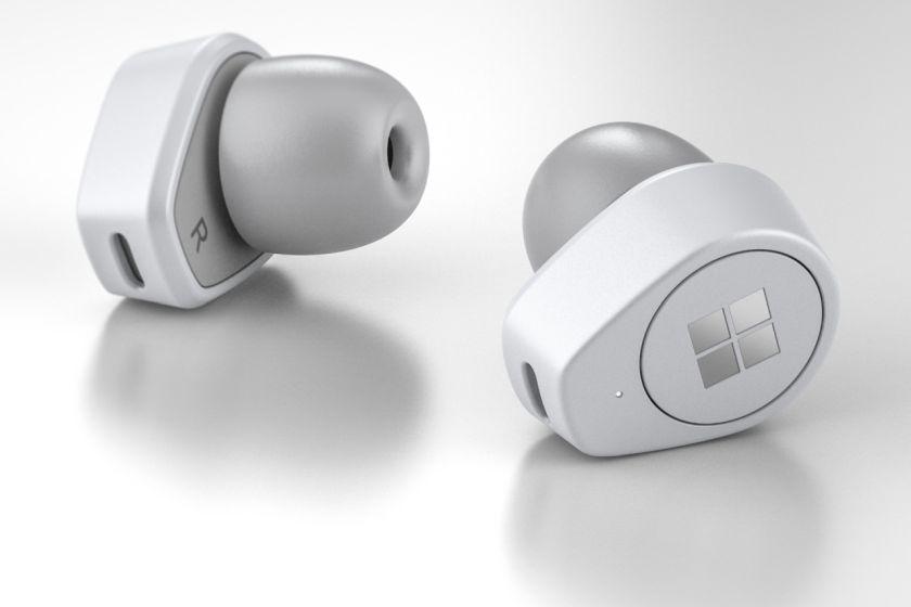 עיצוב קונספט אוזניות Surface Buds (מקור thurrott)