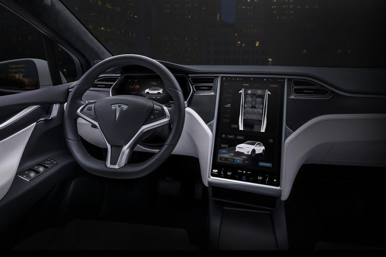 רכב טסלה Model X (מקור טסלה)
