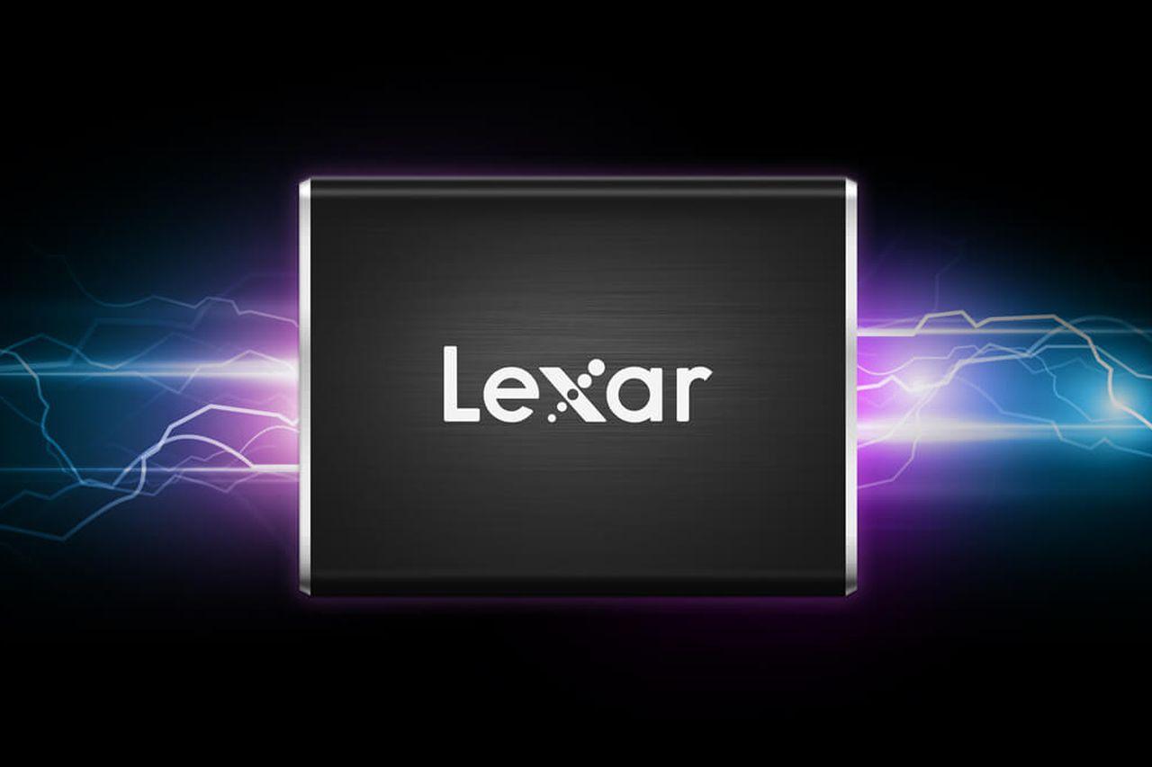 כונן Lexar Professional SL100 Pro Portable SSD (מקור Lexar)
