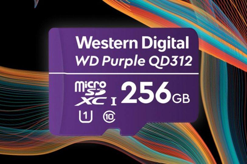 כרטיס זיכרון WD Purple SC QD312 (מקור WD)