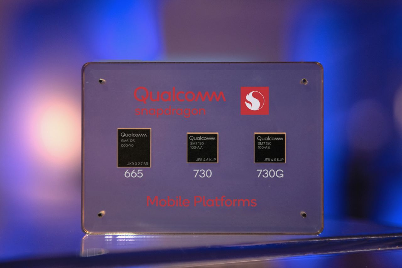 מערכות שבבים סנאפדרגון 665, 730 ו-730G (מקור Qualcomm)