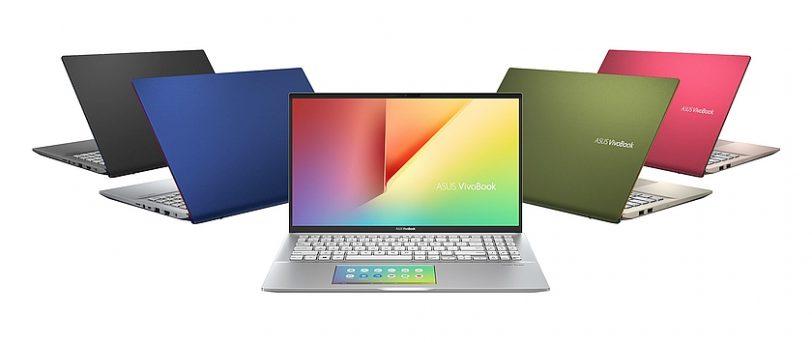 מגוון צבעי ניידי VivoBook S (מקור אסוס)