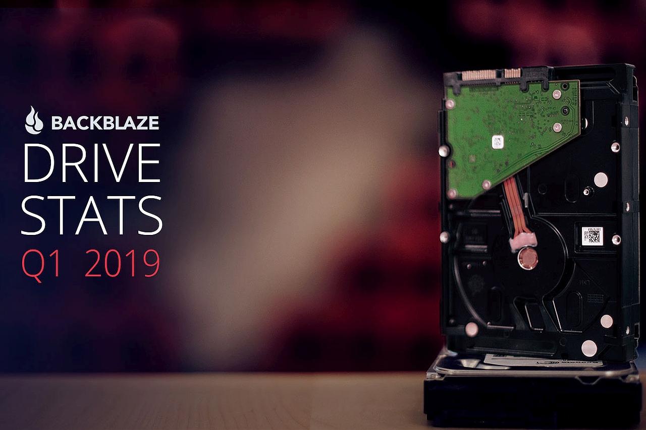 נתוני הקשיחים של Backblaze - רבעון ראשון 2019