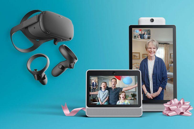 Facebook Portal & Oculus Quest (תמונה: Facebook)