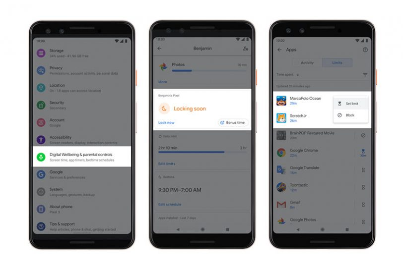 Android Q (תמונה: גוגל)
