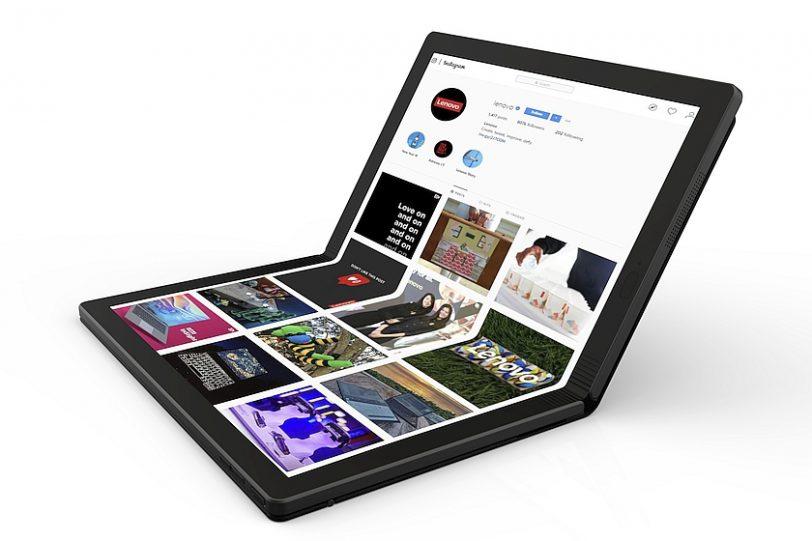 מחשב נייד מתקפל ThinkPad X1 (מקור לנובו)