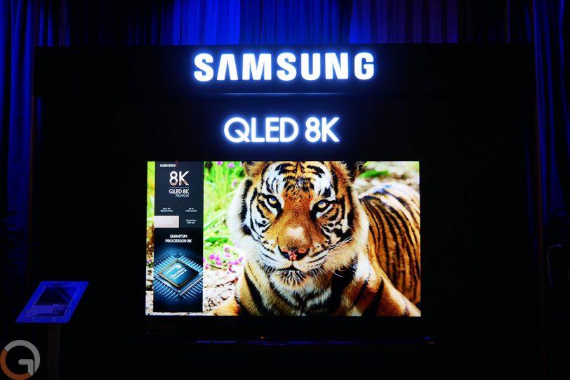 טלוויזיה Samsung QLED 8K QE900R (צילום: רונן מנדזיצקי, גאדג'טי)