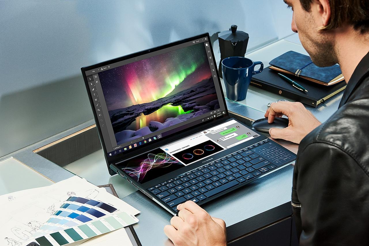 נייד ZenBook Pro Duo (מקור אסוס)