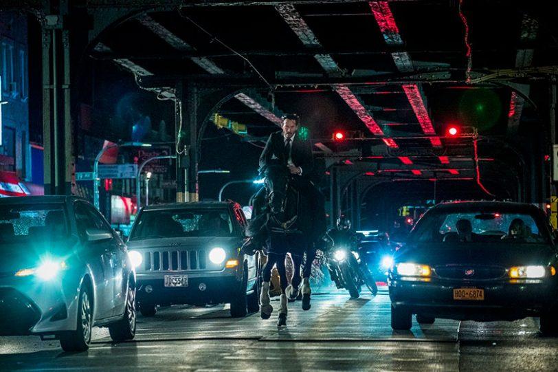 """קיאנו ריבס מתוך """"ג'ון וויק 3"""" (תמונה באדיבות פורום פילם)"""
