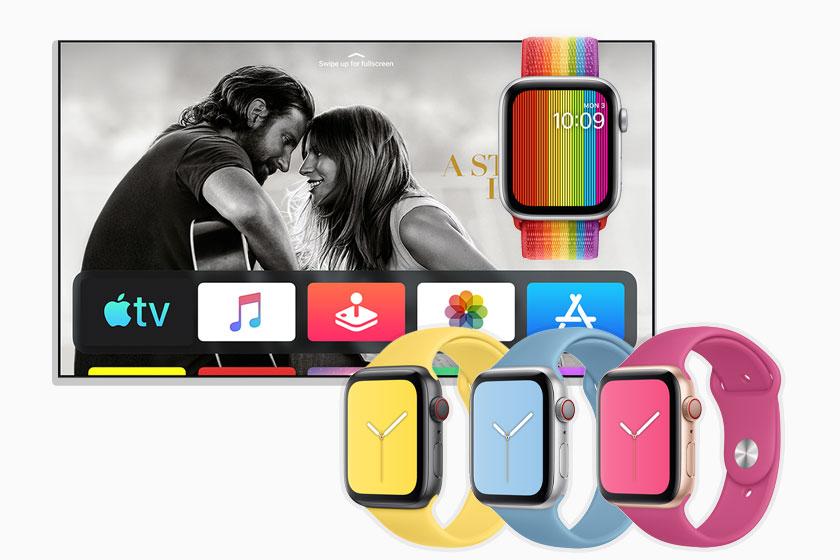 tvOS 13 והרצועות החדשות ל-Apple Watch (תמונות: Apple)