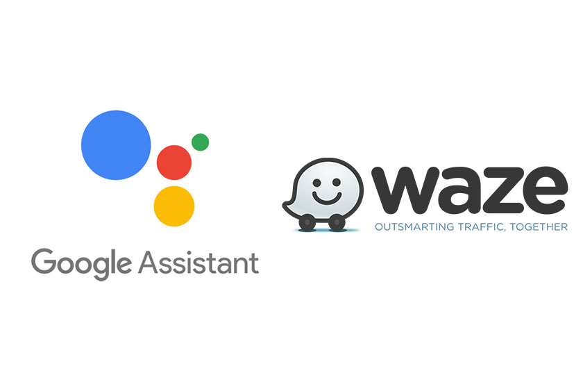 Google Asisstant & Waze (תמונות: גוגל)