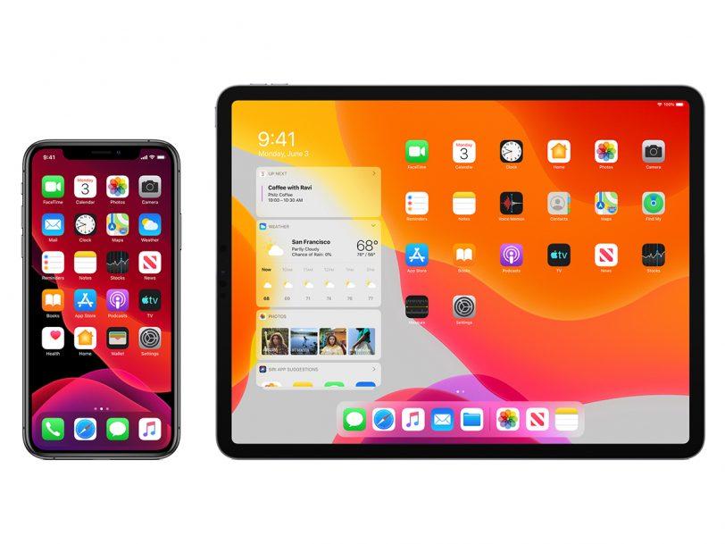 מערכות ההפעלה iOS 13 ו-iPadOS