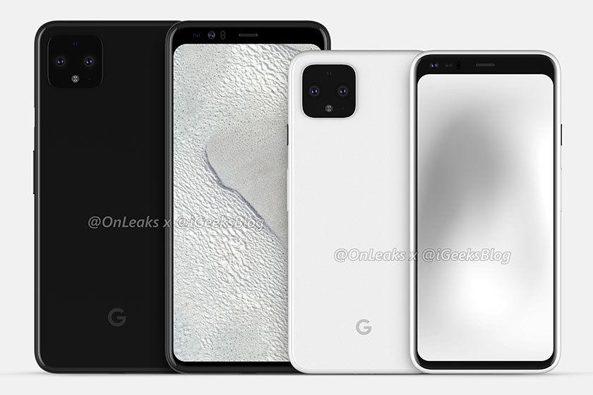Google Pixel 4 & Pixel 4 XL (תמונה: igeeksblog)