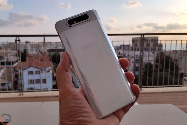 גאדג'טי מסקר: Samsung Galaxy A80 בפתיחת קופסה והצצה ראשונה