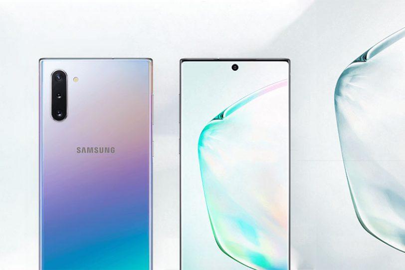 Samsung Galaxy Note 10 (תמונה: Ishan Agarwal/Twitter)