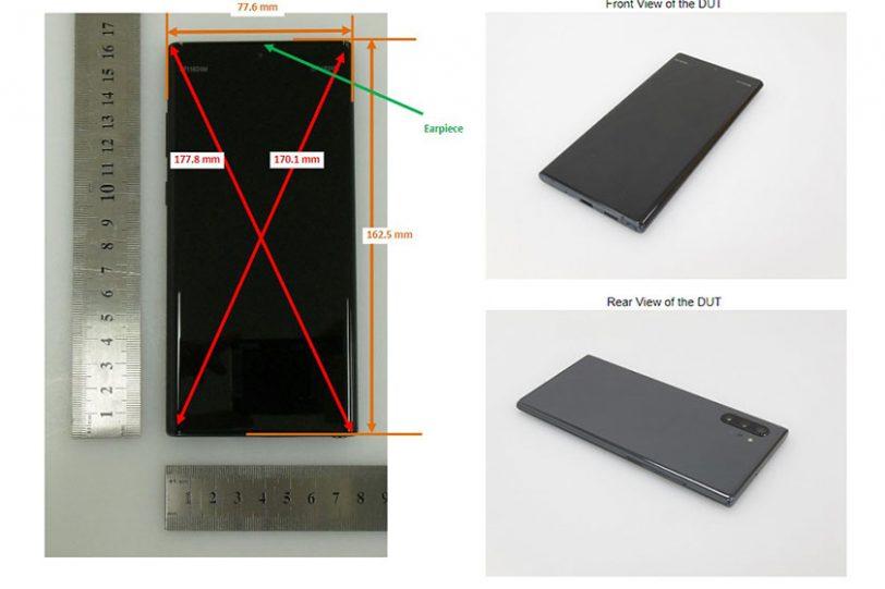 Samsung Galaxy Note 10 Plus (תמונה: XDA)