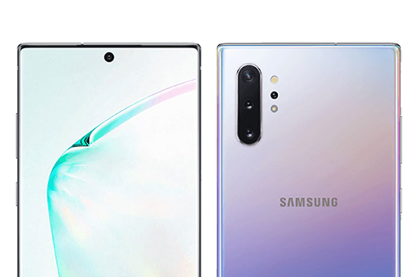 Samsung Galaxy Note 10 Plus (תמונה: Ishan Agarwal/twitter)