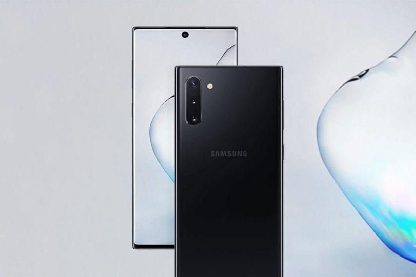 Samsung Galaxy Note 10 Plus (תמונות: Ishan Agarwal/Twitter)
