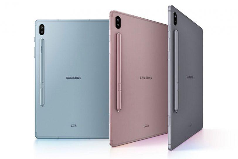 Samsung Galaxy Tab S6 (תמונה: סמסונג)