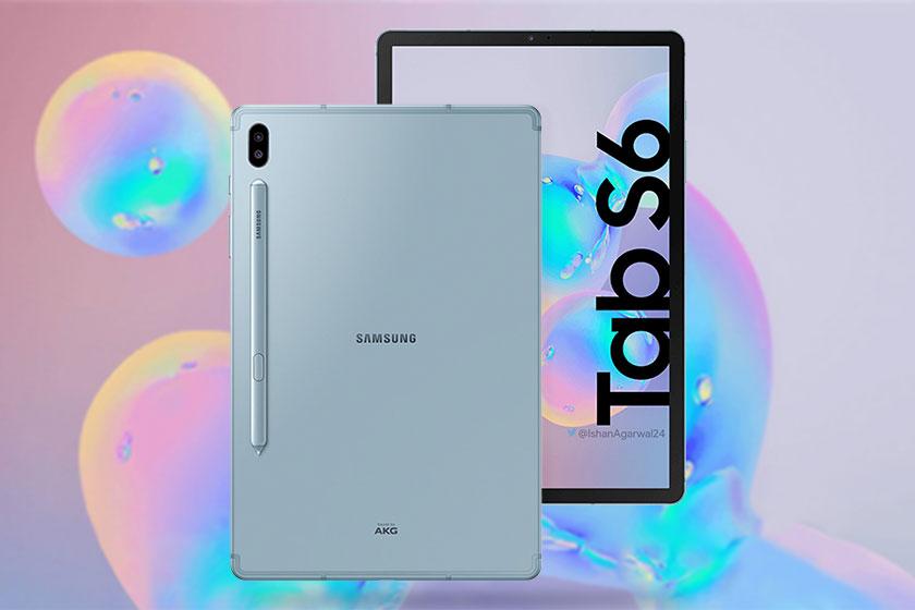 Samsung Galaxy Tab S6 (תמונה: Twitter/Ishan Agarwal)